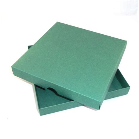 Boxes For Handmade Cards - 6 x 6 green greeting card boxes for handmade cards