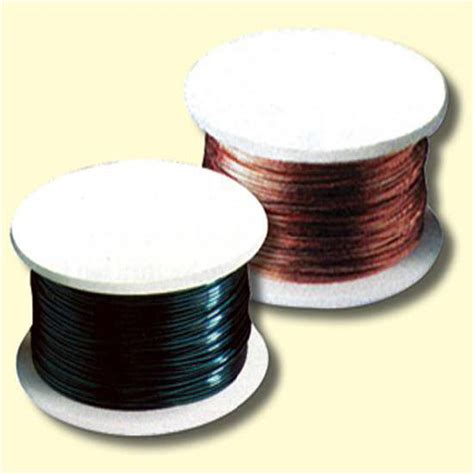 colored wire spool black 18 10 yds