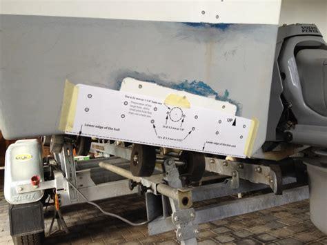 ql boat trim tabs installation de flaps quot ql trim tab system quot discount marine