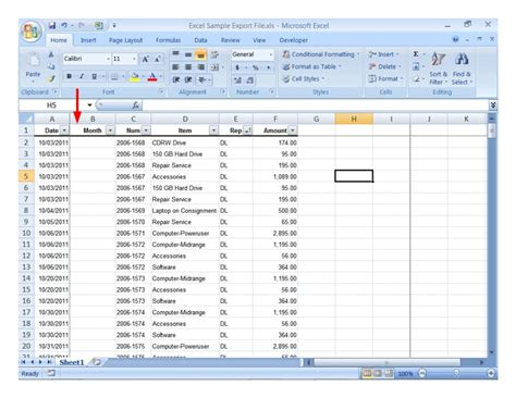 excel spreadsheet exles for students data spreadsheet