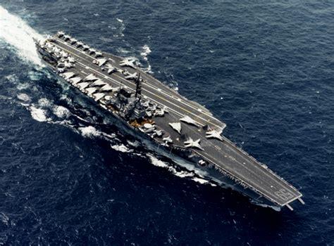 catamaran aircraft carrier wiki plik uss forrestal cv 59 underway at sea in 1987 nh