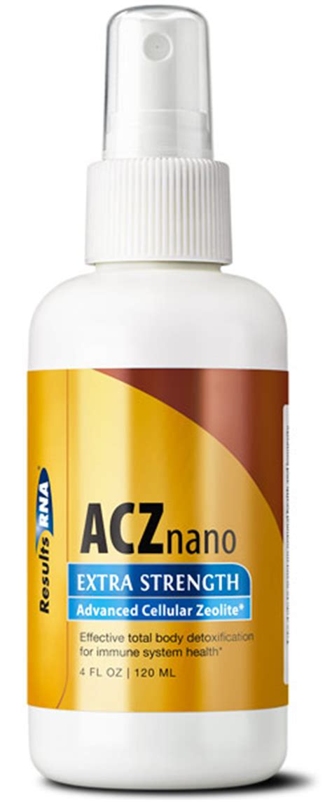 Zeolite Detox Mercury by Acz Nano Strength