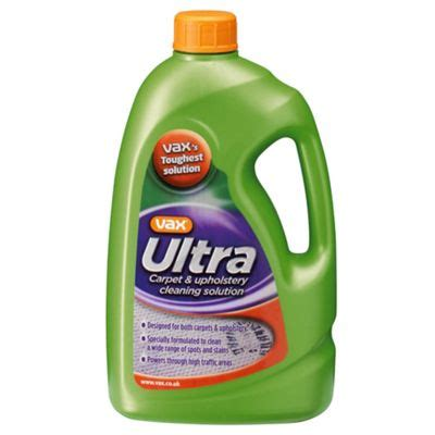 vax ultra carpet and upholstery cleaning solution tesco buy vax ultra carpet cleaning solution 1 42l from our