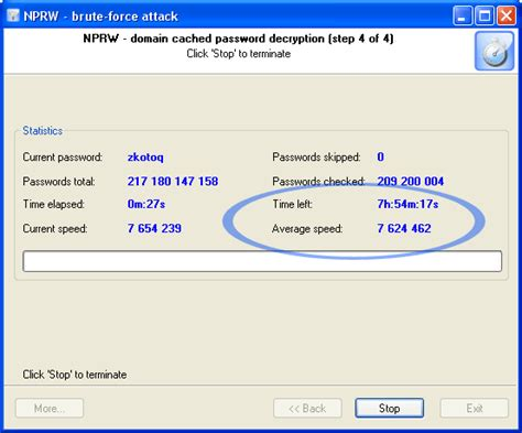 reset windows password cache network password recovery wizard recovering domain cached