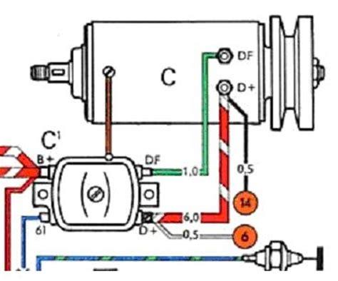 vw 12v generator wiring diagram get free image about
