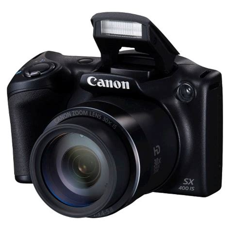 Kamera Canon Powershot Sx400is canon powershot sx400 is digital black target