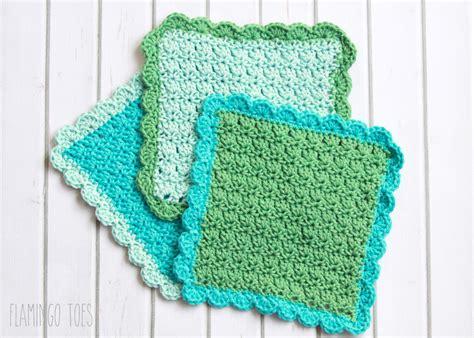crochet dishcloth easy crochet dish cloth pattern