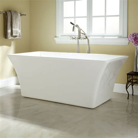Freestanding Tub With Draque Acrylic Freestanding Tub Bathroom