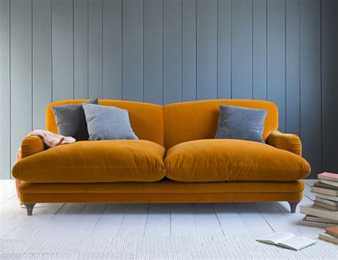 squishy couch they are statement pieces but sofas must also offer