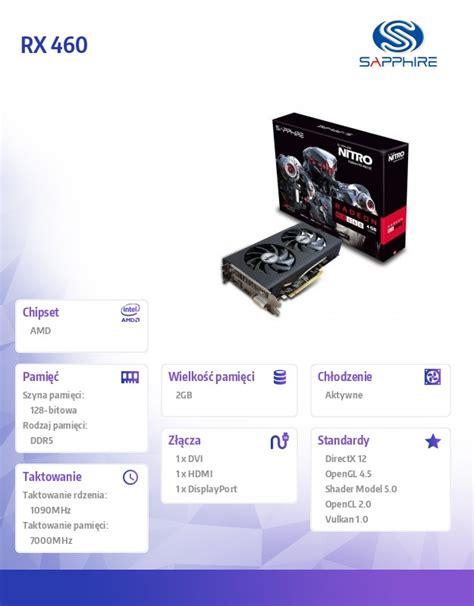 Vga Sapphire Rx 460 4gb arvutitark ee tootekataloog 187 sapphire technology radeon rx 460 nitro 4gb gddr5 128bit pci e