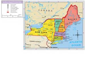 map of northeast usa northeast region map quotes