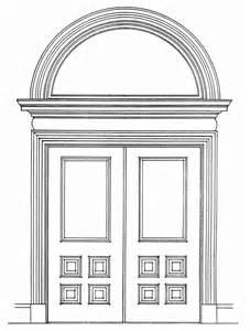 Door Sketch Camden Windows New Jersey State House