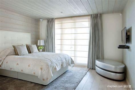 Chambre En Sous Sol 4259 by 2013混搭风格别墅时尚次卧室软包电视墙落地窗装修效果图 设计本装修效果图