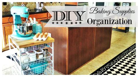 baking supply organization diy baking station be my guest with denise