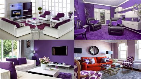 desain interior ruang tamu nuansa ungu 27 contoh gambar desain dekorasi ruang tamu nuansa ungu