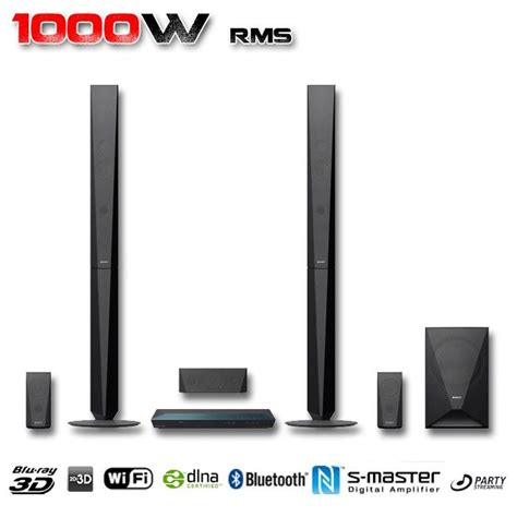 Home Theater Sony Bdv E4100 sony bdv e4100 home cin 233 ma 5 1 3d ensemble home cin 233 ma prix pas cher cdiscount