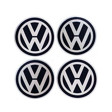 Vw Nabendeckel Aufkleber 50mm by Vw Volkswagen Wheel Cap Sticker 4 Buy Online In Uae