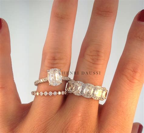 Solitaire engagement ring, rose gold diamond band and 5