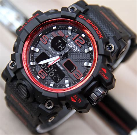 Jam Tangan Casio G Shock Mud Master Glow In The Darkblack List jual jam tangan g shock gpw1000 mudmaster dualtime g shock