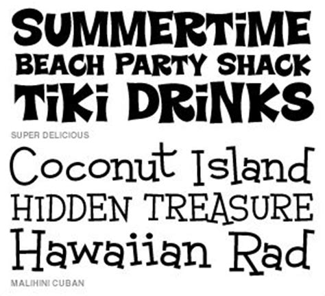 printable beach fonts wishblade font set beach party f7 fonts beaches and