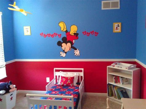 Mickey Mouse Bedroom Designs 25 Best Disney House Bedroom Images On Pinterest Child Room Rooms And Kid Bedrooms