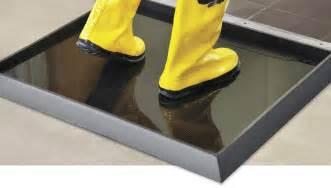 sanitizing footbath mats in stock uline