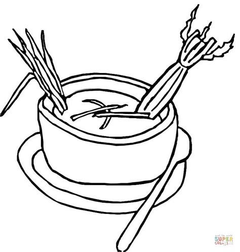 celery soup coloring page free printable coloring pages