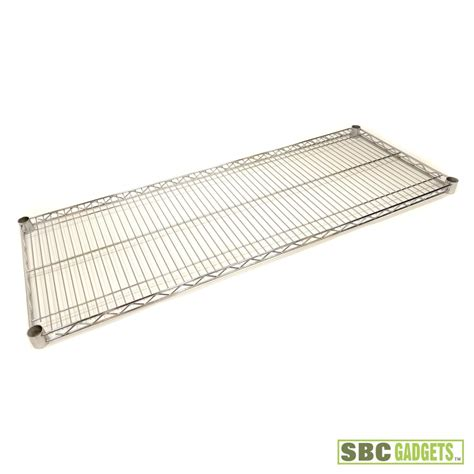 chrome wire shelving 18 x 48 nsf 1 shelf heavy duty