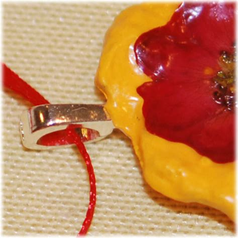 How To Make A Paper Mache Flower - paper mache flower pendant