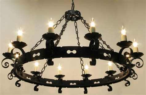 schmiedeeiserner kronleuchter wrought iron chandelier give a feeling best