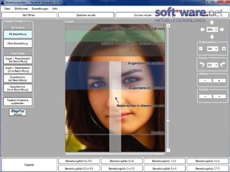 Bewerbungen Generator Passbild Generator 3 5b Windows Bei
