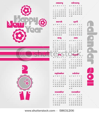 calendar design for new year stock vector new year calendar design vector 58631206