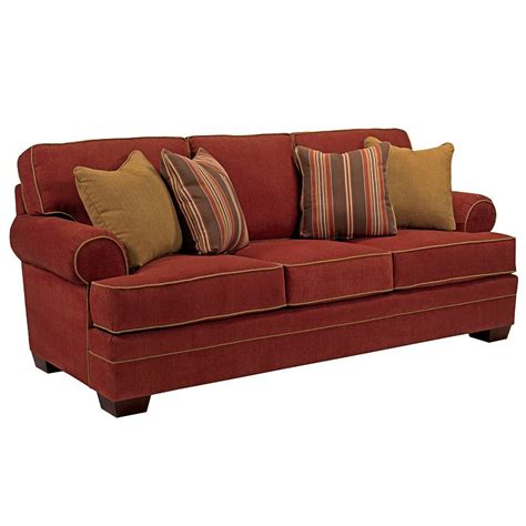 broyhill 6608 3 landon sofa discount furniture at hickory