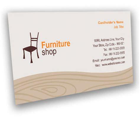 Business Card Design for Furniture Bazaar Offset or