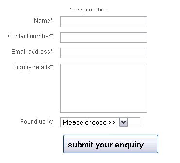 why asking for more not less can increase enquiry form