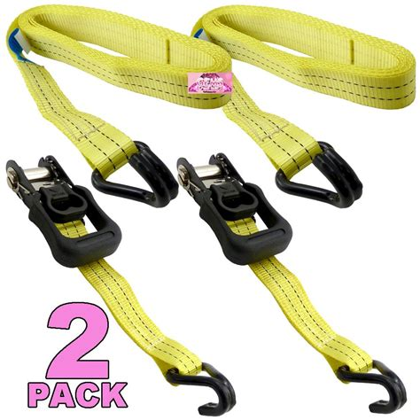 Roof Rack Ratchet Straps by 2pk Ratchet Tie Set Roof Rack Bike Trailers Securing