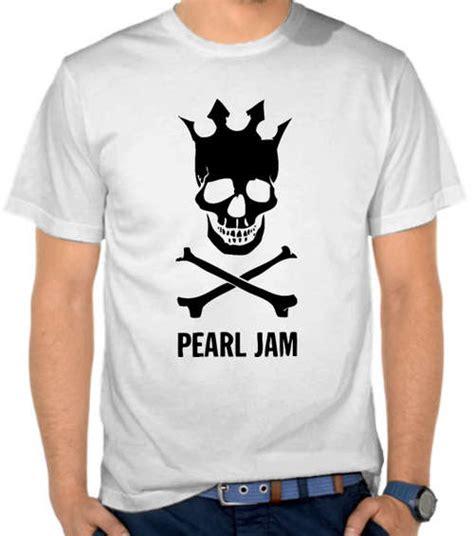 Kaos Pearl Jam Logo 1 jual kaos pearl jam skull logo pearl jam satubaju