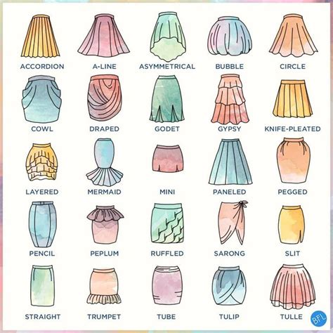 15 must see types of skirts pins trousers skirt pants