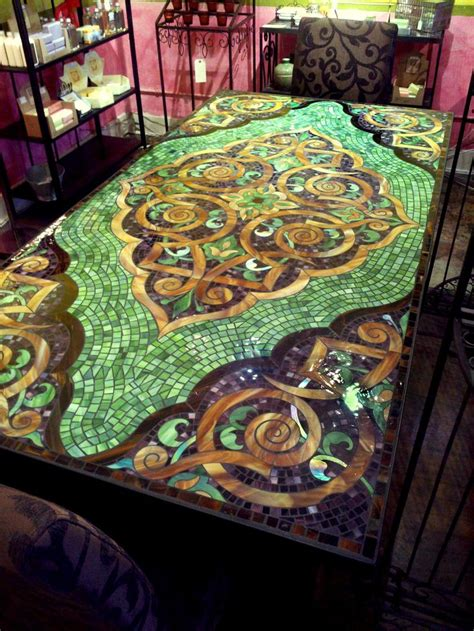 mosaic tile kitchen table best 20 mosaic tile table ideas on tile