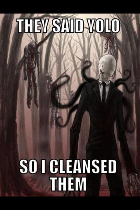 Slender Man Meme - slender quotes like success