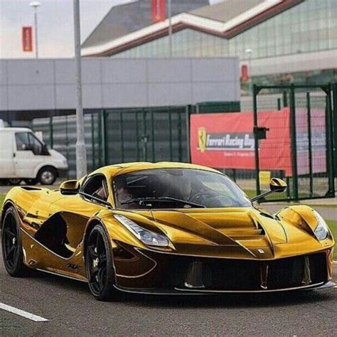 gold laferrari laferrari gold wrapped photo re posted from