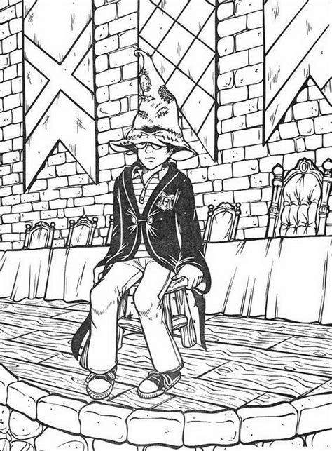harry potter train coloring page hogwarts castle coloring pages