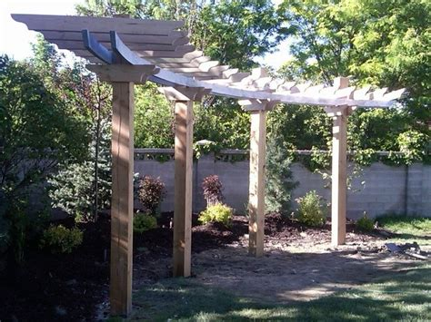 curved pergola kits 25 best ideas about curved pergola on back
