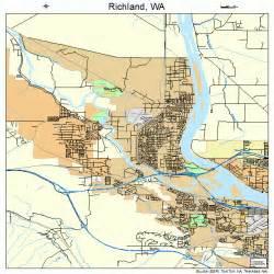 richland washington map 5358235
