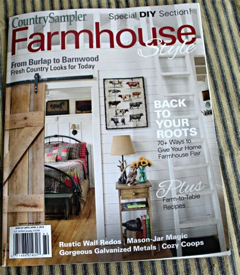 holiday shopping guide farmhouse style knick of time magazine features in country sler farmhouse style and