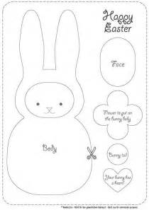 plush easter bunny cutouts 3 pack pictures to pin on pinterest