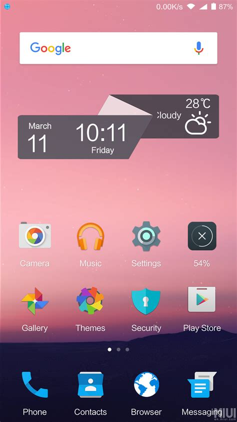 home themes for android android n miui theme homescreen xiaomi tips