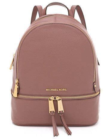 Tas Ransel Michael Kors Mk Rhea Mini Backpack Original rugzak michael kors bruin micheal kors
