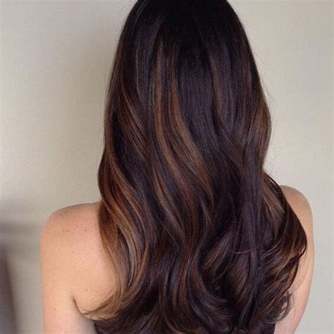auburn highlights for dark brown hair on african americans 25 best hairstyle ideas for brown hair with highlights