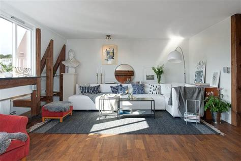 charming swedish style apartment in cappuccino color white is the new color living room walls